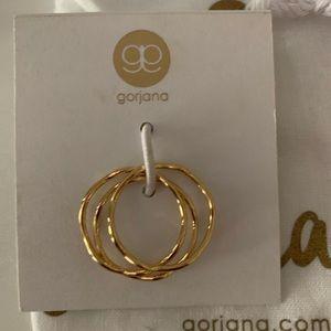"Gorjana ""Emilia"" set of 3 stack rings"